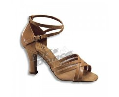 DANCE NATURALS Damen Lateinsandalette 3 Latin tan Leder