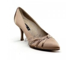 DANCE NATURALS Damen Standardschuhe 29 Diva tan Satin