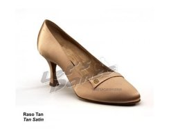 DANCE NATURALS Damen Standardschuhe 400 Perla tan Satin