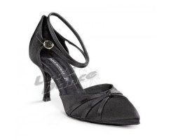 DANCE NATURALS Damen Tanzschuhe 28 Diva black Satin