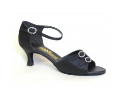 DANSPORT Damen Tanzschuhe S4014 black Silk