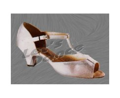 FREED OF LONDON Kinder Tanzschuhe / 6690 weiss Satin