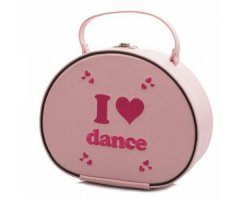 KATZ KB67 Ballettkoffer rosa I love Dance