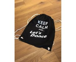 "Let\'s Dance Stoffrucksack/-tasche ""Keep Calm and..."