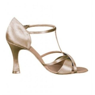 CAPEZIO Damen Lateinschuhe Latina Tan Satin