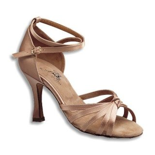DANCE NATURALS Damen Sandalette 22 tan Satin