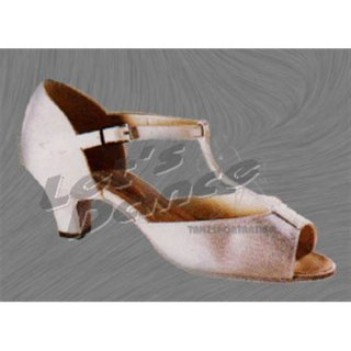 FREED OF LONDON Tanzschuhe / 6690 weiss Satin